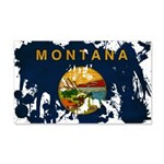 Montana Flag 22x14 Wall Peel