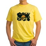 Montana Flag Yellow T-Shirt