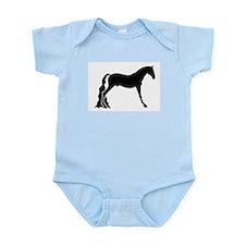 saddle horse Infant Creeper