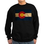 Colorado Flag Sweatshirt (dark)