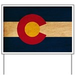 Colorado Flag Yard Sign