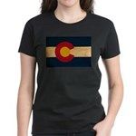 Colorado Flag Women's Dark T-Shirt