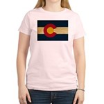 Colorado Flag Women's Light T-Shirt
