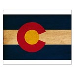 Colorado Flag Small Poster