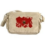 Morocco Flag Messenger Bag