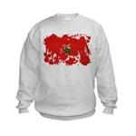 Morocco Flag Kids Sweatshirt
