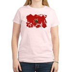 Morocco Flag Women's Light T-Shirt