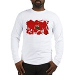 Morocco Flag Long Sleeve T-Shirt