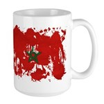 Morocco Flag Large Mug