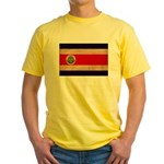 Costa Rica Flag Yellow T-Shirt