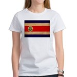 Costa Rica Flag Women's T-Shirt
