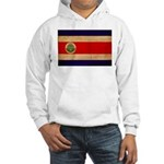 Costa Rica Flag Hooded Sweatshirt