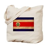 Costa Rica Flag Tote Bag