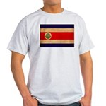 Costa Rica Flag Light T-Shirt