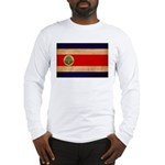 Costa Rica Flag Long Sleeve T-Shirt