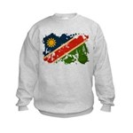 Namibia Flag Kids Sweatshirt
