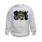 Nebraska Flag Kids Sweatshirt
