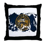 Nebraska Flag Throw Pillow