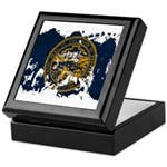 Nebraska Flag Keepsake Box
