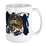Nebraska Flag Large Mug