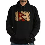 Nepal Flag Hoodie (dark)