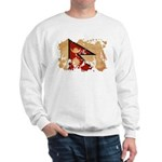Nepal Flag Sweatshirt