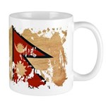 Nepal Flag Mug