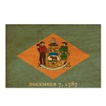 Delaware Flag Postcards (Package of 8)