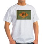 Delaware Flag Light T-Shirt