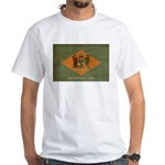 Delaware Flag White T-Shirt