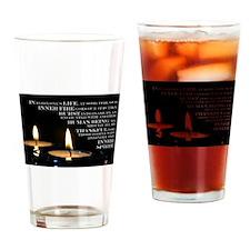 Inner Flame Drinking Glass