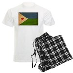 Djibouti Flag Men's Light Pajamas
