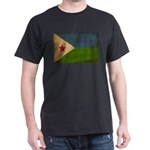 Djibouti Flag Dark T-Shirt