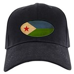 Djibouti Flag Black Cap