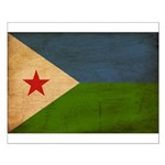 Djibouti Flag Small Poster