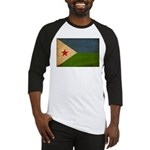 Djibouti Flag Baseball Jersey