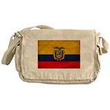 Ecuador Flag Messenger Bag