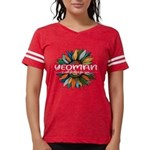 Ecuador Flag Organic Toddler T-Shirt (dark)