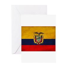 Ecuador Flag Greeting Card