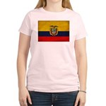 Ecuador Flag Women's Light T-Shirt