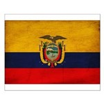 Ecuador Flag Small Poster
