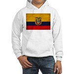 Ecuador Flag Hooded Sweatshirt
