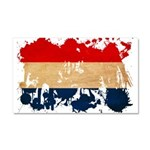 Netherlands Flag Car Magnet 20 x 12