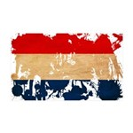 Netherlands Flag 38.5 x 24.5 Wall Peel