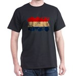 Netherlands Flag Dark T-Shirt