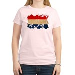 Netherlands Flag Women's Light T-Shirt