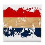 Netherlands Flag Tile Coaster