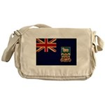 Falkland Islands Flag Messenger Bag