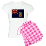 Falkland Islands Flag Women's Light Pajamas