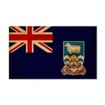 Falkland Islands Flag 22x14 Wall Peel